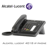 Alcatel lucent 4018 ip phone
