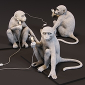 The Monkey Lamp Sitting Version