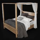 Potterybarn FARMHOUSE CANOPY BED
