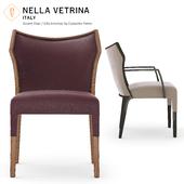 Nella Vetrina Villa Accent Armchair by Constantini Pietro