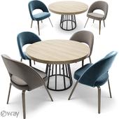 Saarinen Executive Dining Chair & Round Table