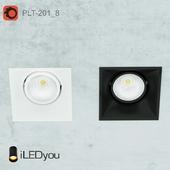 Встраиваемый поворотный светильник PLT-201_8
