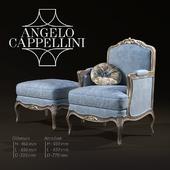 Angelo Cappellini Armchair ottoman