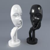 Figurine mask