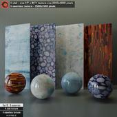 Marble slab & Seamless texture Set 18