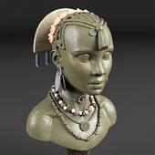 Tribal bust