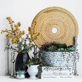 Plant decor set - 2