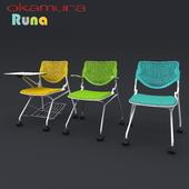 Office chairs Okamura Runa