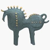 Sculpture horse