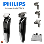 Set for cutting PHILIPS Multygroom Pro QG3371 / 16