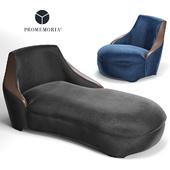 Promemoria Gioconda. Couch. Armchair.