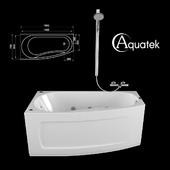 Acrylic bath AQUATEK Pandora 1600x750