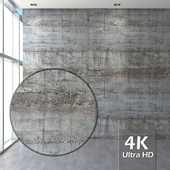 Concrete with traces of formwork 2