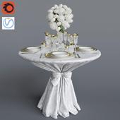 Свадебный стол