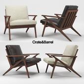 Crate & Barrel Cavett Chair