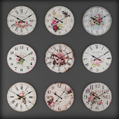 Collection of wall clocks 7
