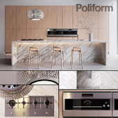 Kitchen Poliform Varenna Trail 2 (vray GGX, corona PBR)