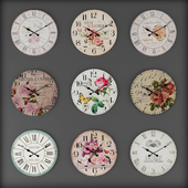 Collection of wall clocks 8