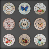 Collection of wall clocks 9