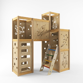CedarWorks Indoor Playset 2