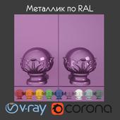 Metallic according to RAL 4 types