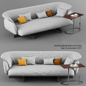 Cassina Super Beam Sofa