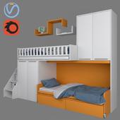 Furniture for children SOPPALCHI KIDS from MORETTICOMPACT