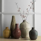 West Elm - Linework vases