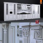 Kitchen Montebianco Argento