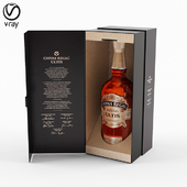 Chivas Regal whiskey bottle with box