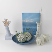 Decorative marine set