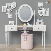Dressing table (2 options for children, for adults) set 19