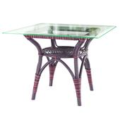Sika Design Originals dining table square top multicolor