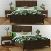 "Lexington ""Coco bay panel bed"""