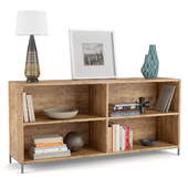 Chest of drawers West Elm Industrial Modular Bookcase