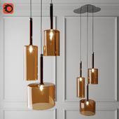 Spillray Axo Light Suspension Lamp Orange