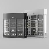 Enofrigio 4V 3P wine library