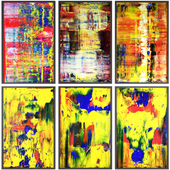 Paintings abstract | set 107