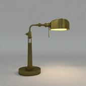 brass idustrial table lamp