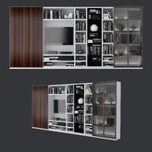 Bookcase Poliform 02