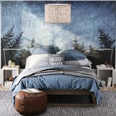 RH / LAGUNA PLATFORM BED