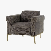 holly hunt SHEFFIELD LOUNGE CHAIR