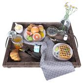 Tiffany breakfast set