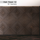 Wall Panel 12. 3D Geometry