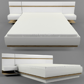 Anrex linate bed and bedside tables