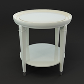 OM Front table FratelliBarri MODENA in finish beige lacquer (Beige B), FB.ST.MD.16
