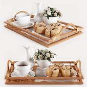 Breakfast on the tray W003