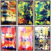 Paintings abstract   set 109