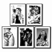 Women's posters.