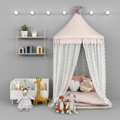 Tent and decor for children